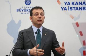 İmamoğlu: Kanal İstanbul projesinde ısrar edilmesinin tek sebebi; para, para, para