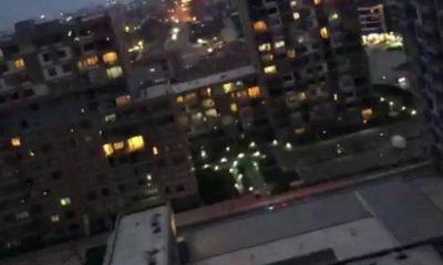 İşçilerden çatıda eylem: Bu binaların hepsini biz yaptık, cebimizde 5 kuruş para yok