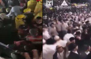 İsrail'de dini bayram kutlamalarında facia: Çok sayıda ölü ve yaralı var