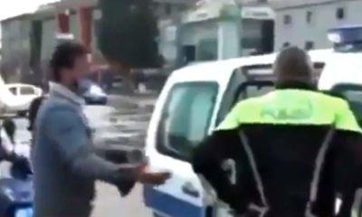 Karton toplayan yurttaş, ceza yazan polislere gözyaşları içinde yalvardı