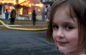 """""""Felaket Kız"""" fotoğrafı servete dönüştü!"""