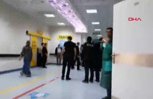 Sokakta başlayan kavga hastaneye sıçradı! 11 yaralı