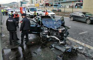 Pendik'te trafik cinayeti! 1 ölü, 5 yaralı