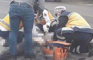 Otomobille motosiklet çarpıştı! 1 kişi hayatını kaybetti