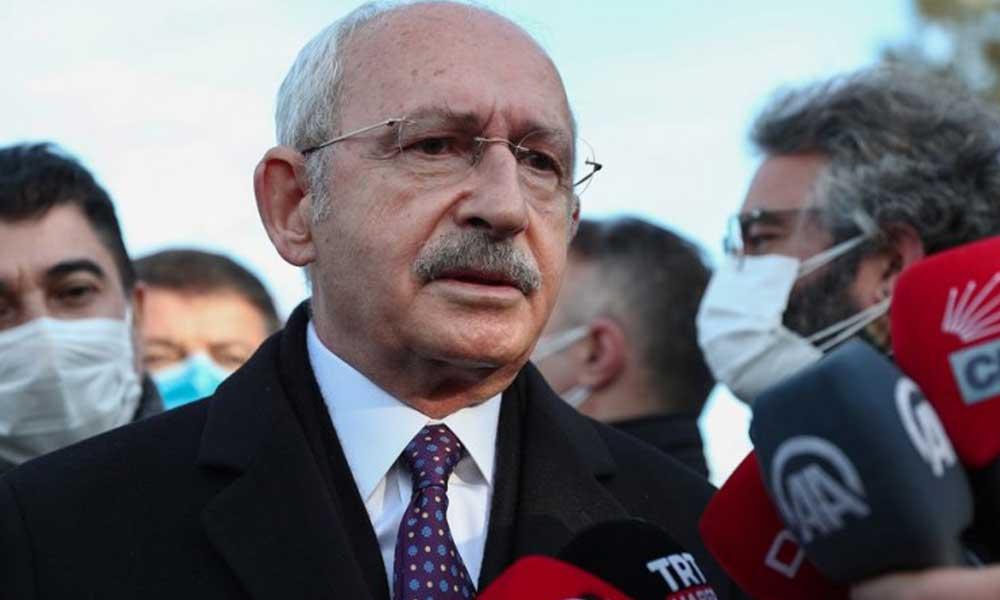 Kılıçdaroğlu'ndan '103 amiral' hakkında açıklama: Bu sahte gündemler tutmaz