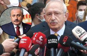 Kılıçdaroğlu'ndan Şentop'a 'pişman ederim' yanıtı