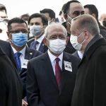 Erdoğan Kılıçdaroğlu'na selam vermedi