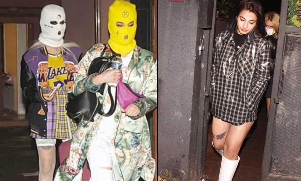 Kar maskeli korona partisi gençlere pahalıya patladı