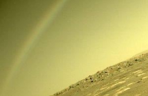 NASA'dan 'Mars'ta gökkuşağı' fotoğrafına açıklama geldi