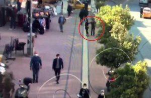 Kaldırımda yürüyen kadının kolyesini koparıp kaçtı