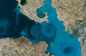 Van gölüne oy yağdı: NASA'nın sitesi çöktü