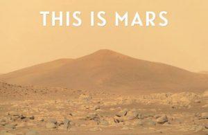 NASA'nın Mars görüntülerinden 4K kısa film yapıldı