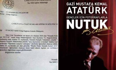 Nutuk'un dağıtılmasını engelleyen müdür görevden alındı