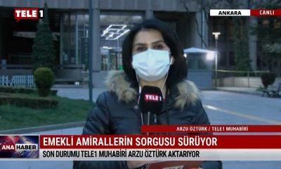 TELE1 Muhabiri Arzu Öztürk emekli amirallerin son durumunu aktardı – ANA HABER