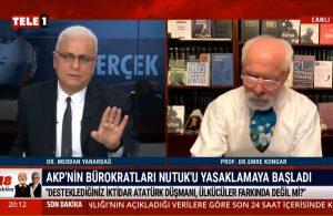 Merdan Yanardağ: Cumhuriyet'te Nutuk yasaklamak soysuzluktur