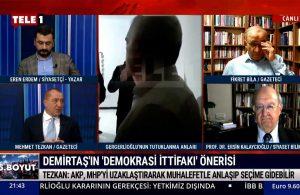 Mehmet Tezkan: AKP, MHP'yi uzaklaştırarak muhalefetle anlaşıp seçime gidilebilir – 5.BOYUT