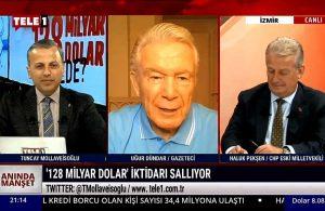 Uğur Dündar: AKP iç ve dış politikada, ekonomide, salgında 'baştankara'  – ANINDA MANŞET