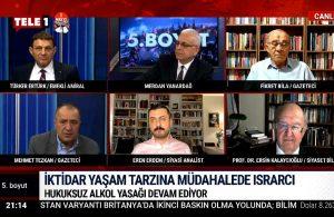 Mehmet Tezkan: Kamuoyu ve muhalefet Aralık'tan beri düzgün tepki vermedi – 5.BOYUT
