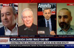 Haldun Solmaztürk: İfade alınmadan 'iddianame' yazıldı – ANINDA MANŞET (5 NİSAN 2021)