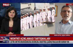 Emekli Amiral Çetin: Metni okuduğunuzda kesinlikle muhtıra çağrıştıracak bir durum yok – ANA HABER
