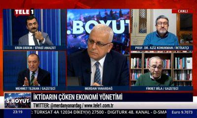 Mehmet Tezkan: TÜİK hepimizin cebinden çalıyor – 5.BOYUT