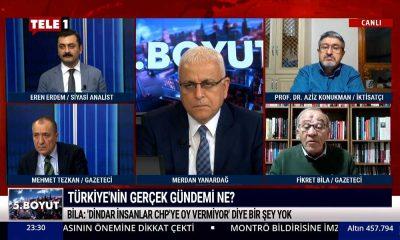 Fikret Bila: 'Dindar insanlar CHP'ye oy vermiyor' diye bir şey yok – 5.BOYUT
