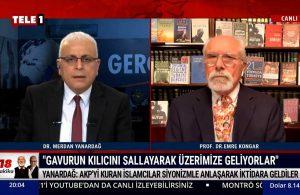 Merdan Yanardağ: AKP'yi kuran islamcılar emperyalizm ve siyonizmle anlaşarak iktidara geldi