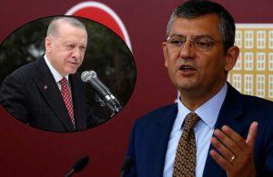 Özgür Özel'den Erdoğan'a 23 Nisan tepkisi: Nezaketsizliğin, pişkinliğin dik alası