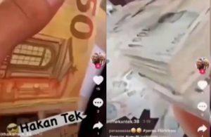 Yine lüks araç yine bir AKP'li yakın koruma bu kez balya balya para