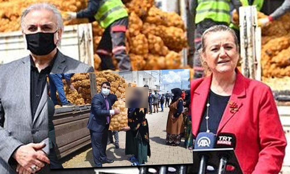 Tükenmişliğin özeti: AKP hükümeti törenle patates-soğan dağıtıyor
