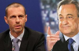Resti çekti! Florentino Perez'den UEFA başkanına maaş göndermesi