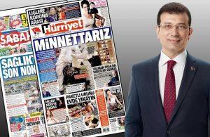 Yandaş medyadan İmamoğlu'na sansür