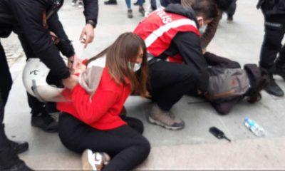 Boğaziçi Üniversitesi öğrencilerine polis müdahalesi: Çok sayıda gözaltı var!