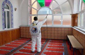 Kartal'ın camilerinde Ramazan temizliği