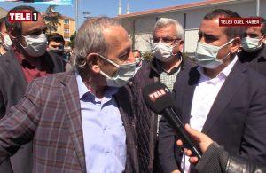 Yurttaş TELE1 mikrofonlarına isyan etti! '15 senedir AKP'ye oy veriyorum…'