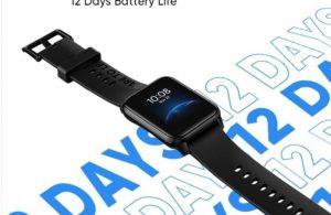Realme Watch 2 'nin teknik özellikleri belli oldu