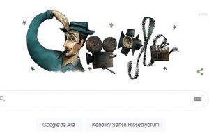 Google Sadri Alışık için doodle hazırladı