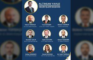 AKP'de seçim hazırlığını ele veren afiş