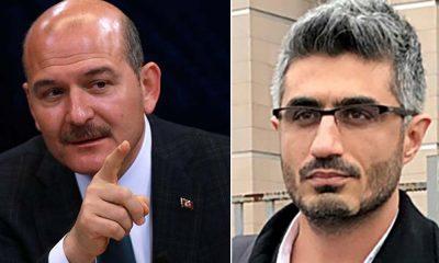 Soylu, 'Emniyet'teki krizi' yazan Gazeteci Barış Pehlivan'ı hedef aldı