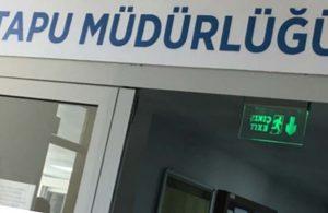 Açıklama yapılacak yap! Erzincan Tapu Müdürlüğü'nden 'Amiral' tepkisi