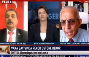 Ahmet Saltık: Dört hafta içinde en az 12 bin insan ölecek