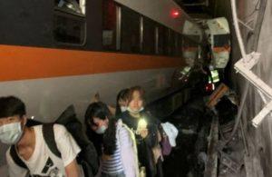 Tayvan'da tren faciası: En az 34 kişi öldü