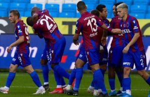 Trabzonspor'un galibiyet hasreti sona erdi