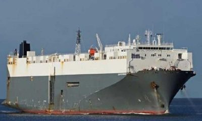 180 metrelik gemi Tuzla'da karaya oturdu