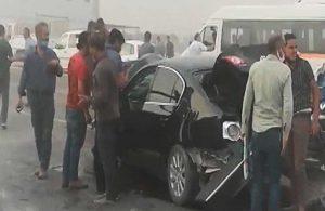 Şanlıurfa'da zincirleme kaza: 1 ölü, 3 yaralı