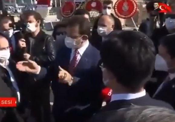 23 Nisan töreninde İmamoğlu'ndan il milli eğitim müdürüne sert tepki
