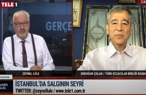 Türk Eczacılar Birliği Başkanı Çolak: Vakalar tekrardan yükselişe geçecek