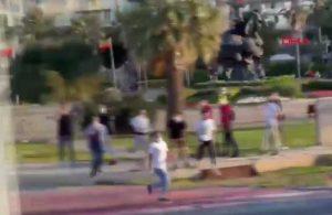 İzmir'de Beşiktaş'a çirkin saldırı