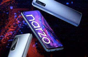 realme narzo 30 Pro 'nun 4G sürümü onaylandı