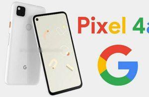 Beyaz Pixel 4a nasıl görünecek